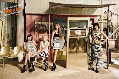 2NE1, Falling in Love Concept, 2013