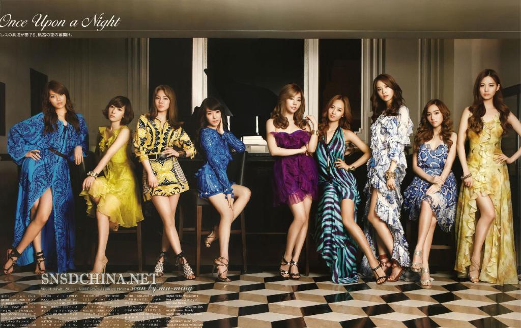 Girls' Generation, Vogue Japan, 2011